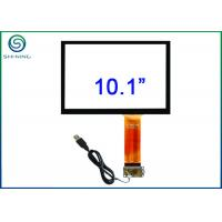 Wholesale 10.1 Inch Capacitive Touch Sensor Bonded On Front Glass For Open Frame Industrial Displays from china suppliers