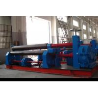 Buy cheap Three Roller Plate Roll Bending Machine Mechanical Symmetrical 245Mpa from Wholesalers
