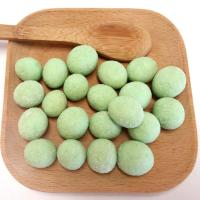 Wholesale Healthy Low Fat Roasted Coated Wasabi Peanuts Coconut Flavor Without Pigment from china suppliers