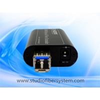 Wholesale Mini HDMI fiber optical extenders for 1CH uncompressed 1080P HDMI over single mode fiber up to 10~80KM without delay from china suppliers