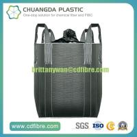 Buy cheap PP Woven Carbon Black FIBC Big Bulk Bag Super Sack with Spout from wholesalers