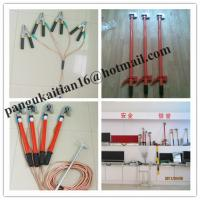 Wholesale Copper grounding rod&earth rods,Short-circuit Grounding operation Pole from china suppliers
