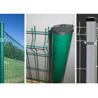 Wholesale Security Welded Steel Wire Fencing / Triangle Bending Garden Mesh Fence from china suppliers