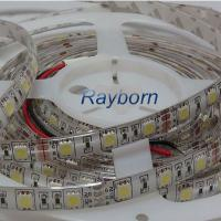 White PCB Epoxy 5050smd Flexible LED Strip Lights FOR Advertising With IP65 DC12V / 24V for sale