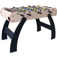 China Stable square feet with 6 justers , 4pcs small balls foosball soccer table for children on sale