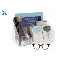 Wholesale Clear Acrylic Desk Organizer / Office Desk Organizer With 12 1/2″ X 7″ X 6″ from china suppliers
