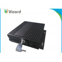 Wholesale 4CH SD Mobile DVR Video Recorder Real-time Recording GPS Tracking Bus DVR from china suppliers