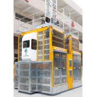 China SC200-200 Construction Site Hoist Rack Pinion Type Max Lifting Height 450M for sale