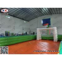 Wholesale Outdoor Indoor 0.6 mm PVC Inflatable Football Basketball Field Custom from china suppliers