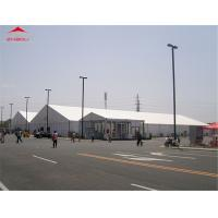 Wholesale 20M Large Outdoor Event Tent For Party / Exhibition With White PVC Roof Cover from china suppliers