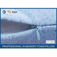 Multi-Function Comfortable Memory Foam Back Cushion Office Napping Pillow In Blue