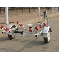 Wholesale 4.8m Two Axle Galvanized Steel Boat Trailer Size Customized  With Big Payload from china suppliers