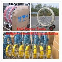 Quality Reels for continuous duct rods,Pipe traker traceable midi duct rodder for sale
