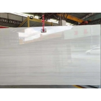 Buy cheap Chinese supplier natural quartz stone Cartier grain marble wood veins grey from wholesalers
