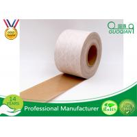 Quality Brown / White Color Kraft Paper Tape Customized Reinforced Gummed Kraft Paper for sale