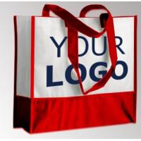 Wholesale New design shopping bag custom logo tote non woven bag with high quality, custom printed cheap eco pp non woven shopping from china suppliers