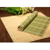 Wholesale Food Grade Japanese Green Bamboo Rolling Mat For Sushi Making from china suppliers