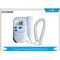 China Fetal Heartbeat Prenatal Ultrasound Baby Monitor / Ultrasound Fetal Heartbeat Monitor on sale