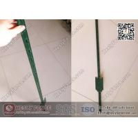 Wholesale 4' length T Studded Steel Post with Spade Green Bitumen Coated | China T Post Exporter from china suppliers
