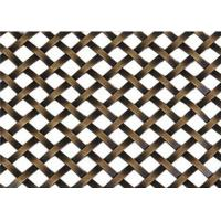 Wholesale Decorative Flat Wire Mesh Screen Cabinets Nonpoisonous Convenient Handling from china suppliers