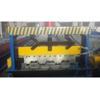 Wholesale Galvanized Steel Floor Deck Roll Forming Machine from china suppliers