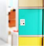 Wholesale Beige Door ABS Plastic Lockers 4 Tier Master Combination Padlock For School from china suppliers