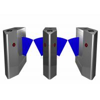 Buy cheap Security Outdoor Flap Barrier Gate, Turnstile Entry Systems Subway from wholesalers