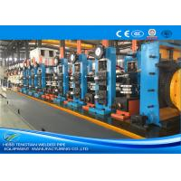Wholesale ERW60 Industrial Tube Mills Blue Color High Frequency Welding Cold Saw from china suppliers