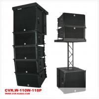 Buy cheap 10 inch Line Array \Church Sound Speaker \Black Cabinet Club With Truss Sound \Passive Hang Line Array from wholesalers