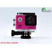 Wholesale 30M Waterproof 4k Sports Action Camera Original H9 170 Degree With USB 2.0 from china suppliers
