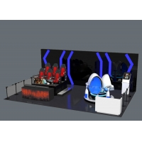 Wholesale Combination Multiplayer Shooting Virtual Reality Game Park from china suppliers