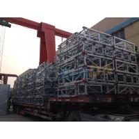 Wholesale Aerial Double Mast Climbing Work Platforms with 1400kg Large Capacity from china suppliers