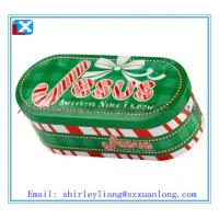 Wholesale Christmas tin boxes for cookies from china suppliers