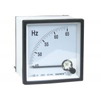 High Precision Panel Analogue Meter , Frequency Meter With Glass Window for sale