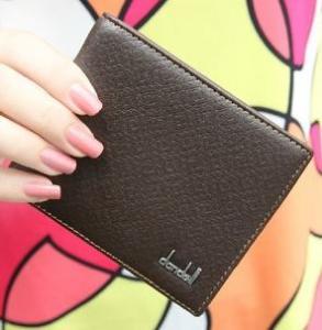 Quality pu men wallet casual short purse for men for sale