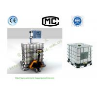 Wholesale Sanhe DCS-1500L High Accuracy IBC Liquid Filling Machine With Weighing Scale from china suppliers
