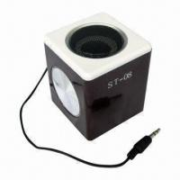 Wholesale Micro Speaker with Built-in Rechargeable Li-ion Battery from china suppliers