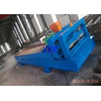 Wholesale Servo Motor Roofing Corrugated Sheet Roll Forming Machine Hydraulic Pillar Cutting from china suppliers