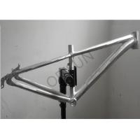 China Lightweight Aluminum Silver Bmx Frame 12.6 Inch TIG Welding For Kids on sale