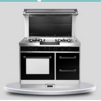 Freestanding combination gas electric oven gas cooktop electric oven