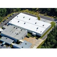 China Gable Frame Pre Engineered Steel Structure Warehouse With Insulated Wall Panel on sale