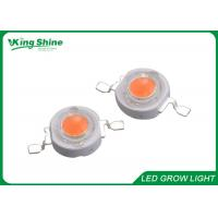 Brightest 1w 3w High Power Led Chip For Led Grow Tubes , Led Bridgelux Chip for sale