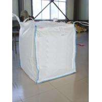 Wholesale FIBC 100% Pure Pp Material Ton Bag , Jumbo Plastic Bag With Baffle from china suppliers