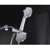 Wholesale Plating Chrome Rain Shower Head Combo Wall Mounted Eco Friendly from china suppliers