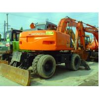 Wholesale USED HITACHI ZX130W WHEEL EXCAVATOR FOR SALE ORIGINAL JAPAN HITACHI ZX130W FOR SALE CHINA from china suppliers