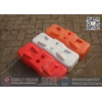 Wholesale Orange Color BLOW Mould Plastic Temporary Fencing Feet | China Temporary Fence Feet Factory from china suppliers
