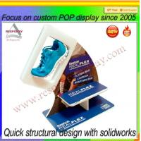 China Sport shoe display stands flooring custom shoes display on sale