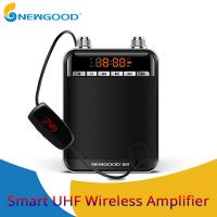 Wholesale NEWGOOD Black UHF,2.4Ghz High Powerful 9V 50W wireless amplification Loud speakers for school classroom professor from china suppliers