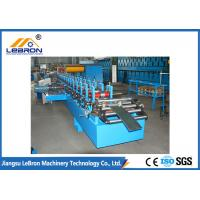 China Energy Saving C Z Purlin Roll Forming Machine , PLC Control Z Channel Rolling Machine on sale