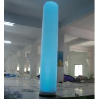Wholesale EN71 Approved Large Commercial Inflatable Column with LED Lighting from china suppliers